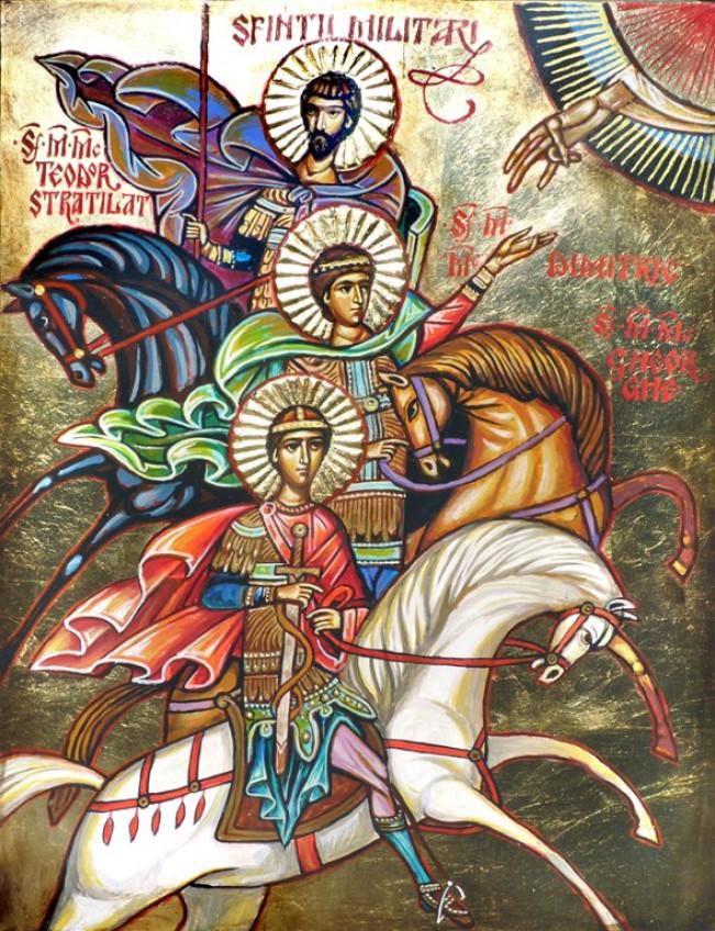 Sfinți Militari - Vintilă Mihăescu