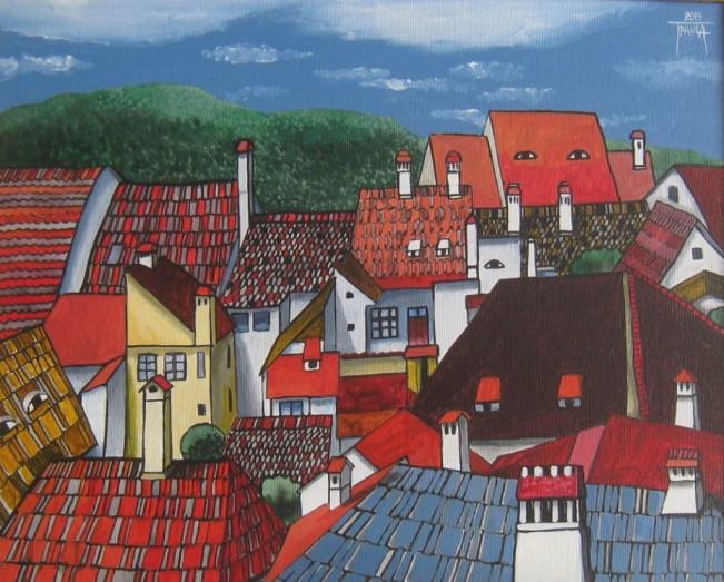 Sighisoara-casele care te privesc - Paula Tudor