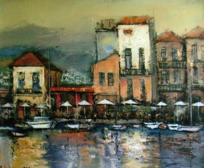 Peisaj din Grecia - Teodor Vescu